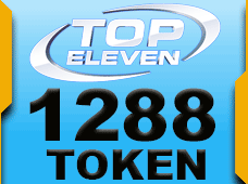 Top Eleven 1288 Token 100 USD rixty card