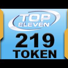 Top Eleven 219 Token 20 USD rixty card