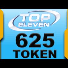 Top Eleven 625 Token 50 USD rixty card