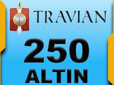 250 Travian Altin C PAKET