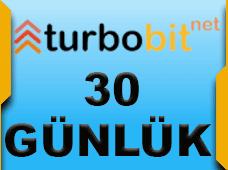 Turbobit Premium 30 gün