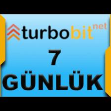 Turbobit Premium 7 gün