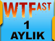 WTFast Advanced 1 Aylık 1 Pc
