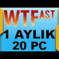 WTFast Advanced 1 Aylık 20 Pc
