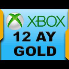 XBOX Live 12 Aylık Gold Üyelik