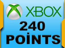 240 Microsoft Points
