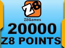 20.000 ZP Z8 Points.