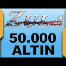 50.000 Zula Altını + (7.500 Bonus Zula Altını)