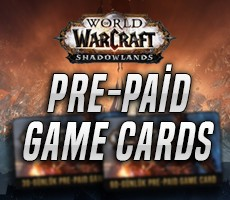 World Of Warcraft Prepaid Game Cards