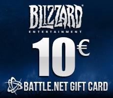 Battle.Net Gift Card 10 Euro Epin (World Of Warcraft)