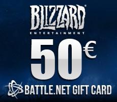 Battle.Net Gift Card 50 Euro Epin