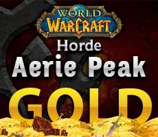 World of Warcraft Aerie Peak Horde 1000 Gold