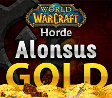 World of Warcraft Alonsus Horde 1000 Gold
