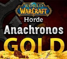 World of Warcraft Anachronos Horde 1000 Gold