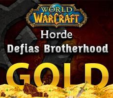 World of Warcraft Defias Brotherhood Horde 1000 Gold
