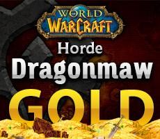 World of Warcraft Dragonmaw Horde 1000 Gold