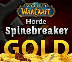 World of Warcraft Spinebreaker Horde 1000 Gold