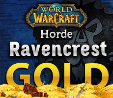 World of Warcraft Ravencrest Alliance 1.000 Gold